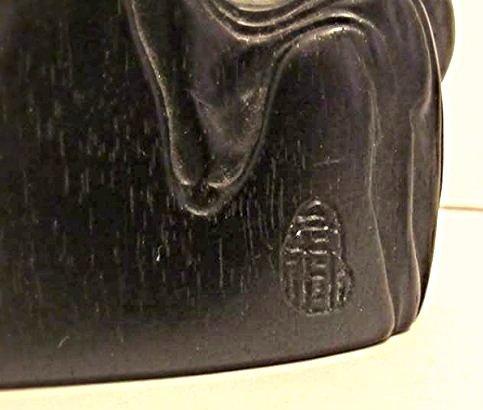 5-Peaked Zitan Brushrest with Mythical Beasts - 7