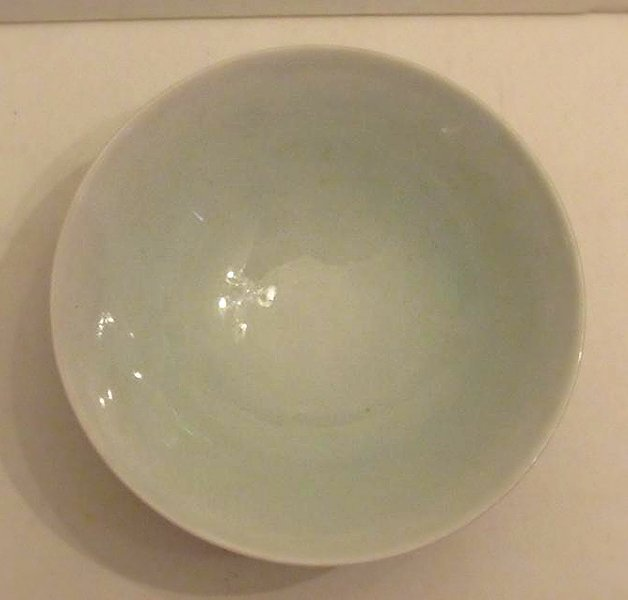 Blue and White with Polychrome Overglaze Porcelain Bowl - 3