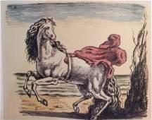 Cavallo Con Manto 1969 by Giorgio De Chirico