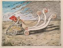 La biga invincibile 1969 by Giorgio De Chirico