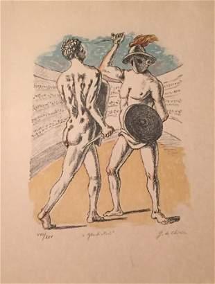 Gladiatori 1969 by Giorgio De Chirico