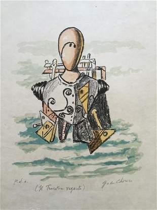 Il Trovatore vagante 1971 by Giorgio De Chirico