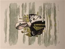 Il Trovatore errante 1971 by Giorgio De Chirico