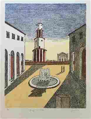 Giorgio de Chirico originial lithographs