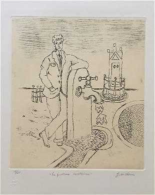 Giorgio de Chirico originial Engraving