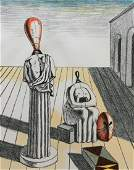 Le Muse inquietanti 1969 by Giorgio De Chirico