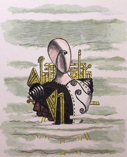 Il Trovatore errante by Giorgio De Chirico