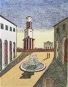 Il segreto della fontana 1971 by Giorgio De Chirico