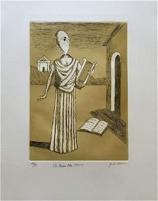 La musa della storia 1970 by Giorgio De Chirico