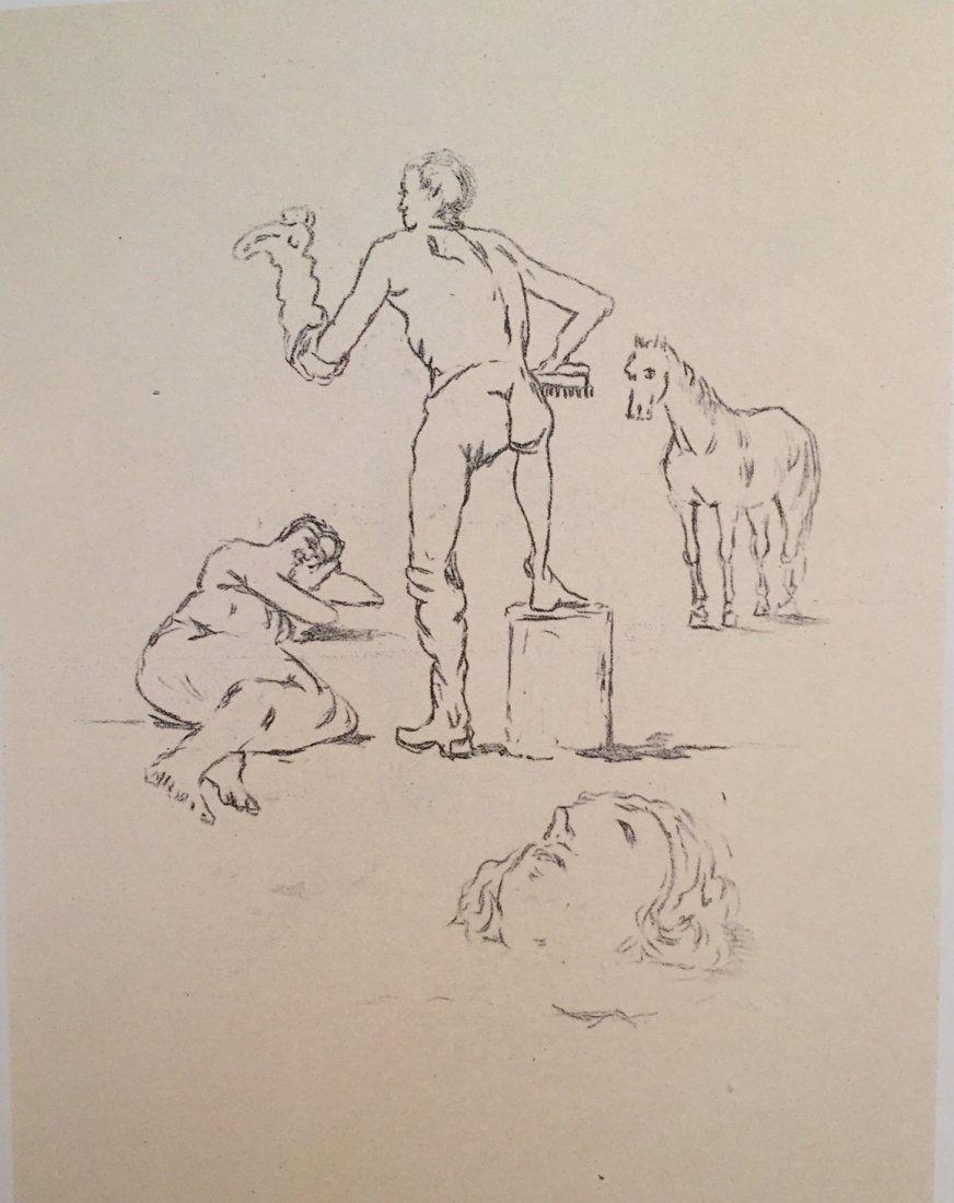 L'attendente 1971 by Giorgio De Chirico