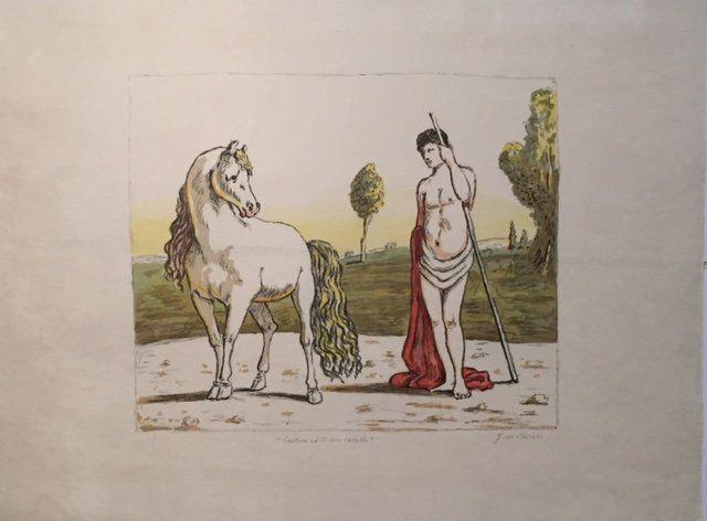 Castore ed il suo cavallo 1970