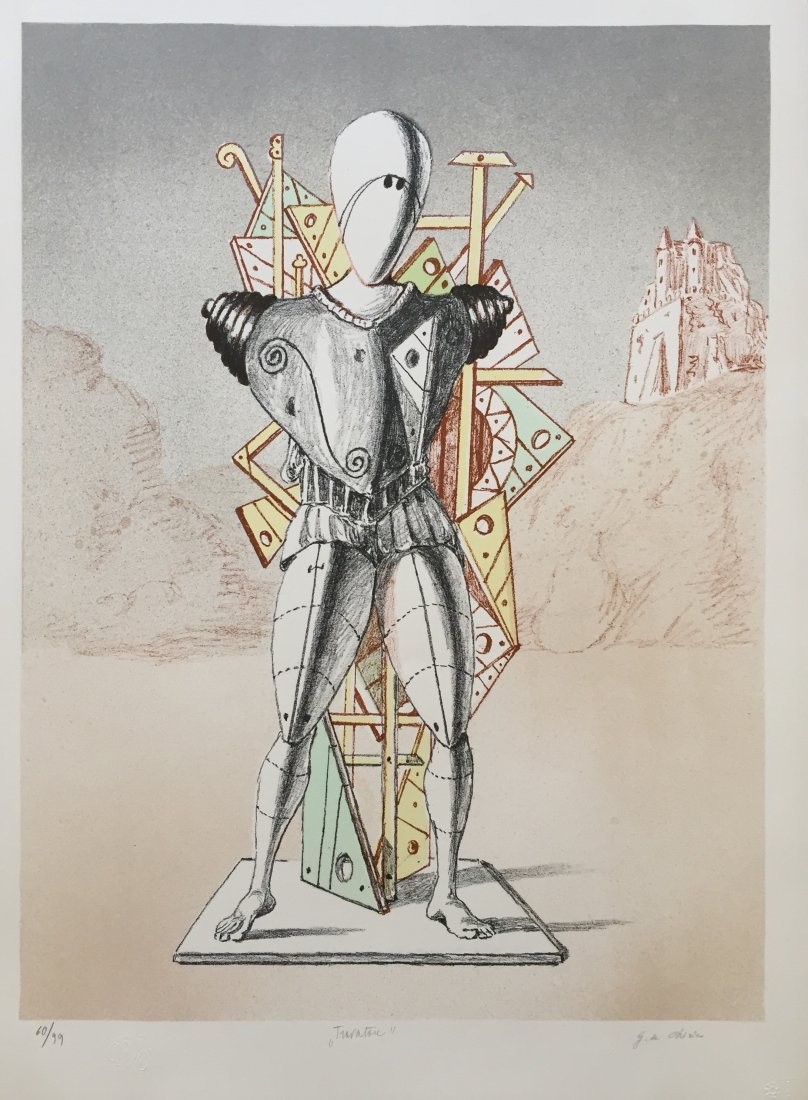 Trovatore 1972 by Giorgio De Chirico