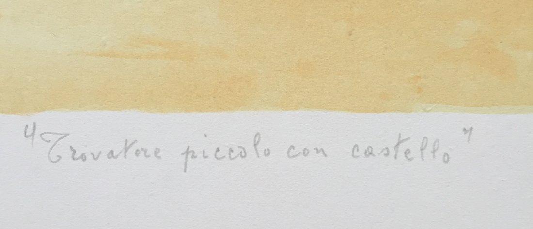 Trovatore 1973 by Giorgio De Chirico - 3