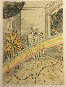 L'arcobaleno 1969 by Giorgio De Chirico