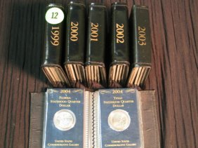 12: Mini state quarter books - complete - one of each 1
