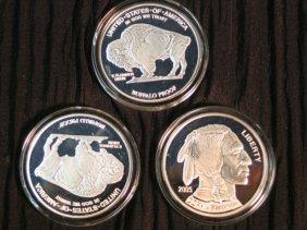 23: 3 -  Buffalo Proof Silver Copy - 2005