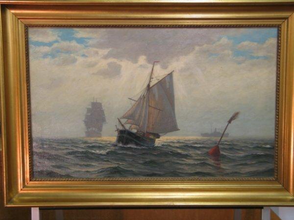 300: Agnes Von Solomon Bulow 1884 - ? - Oil on canvas