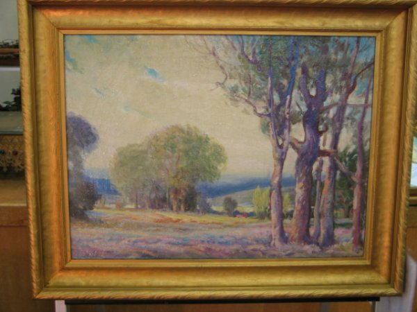 301: Edward J. F. Timmons - 1882 - 1960 Signed Oil on c