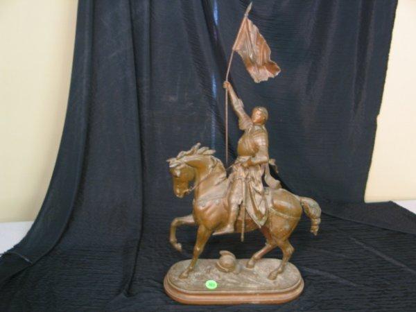 303: E  Laurant Horsman Bronze? Figurine - Removable fl