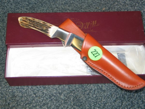 227: Case knife - Solingen Germany XX - with box, paper