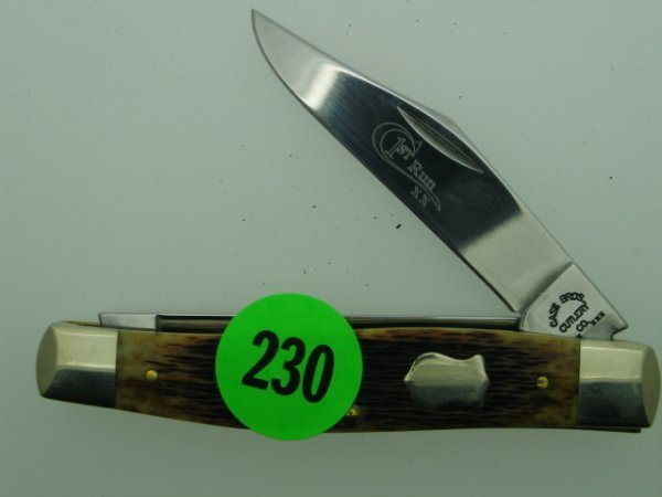 230: Case Knife - The Brothers - first run xx tested -