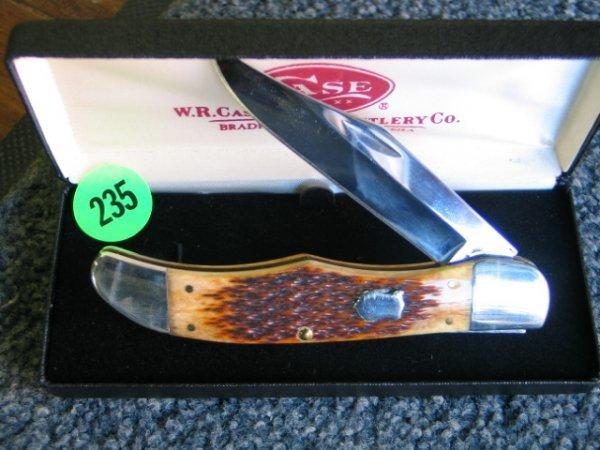 235: Case Knife - xx w/ original Box - Perfect conditio
