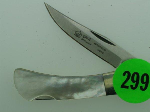 299: Puma Knife - Germany - 9210610MOP 103/RC  - w/ ori