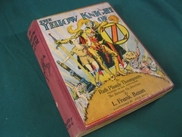 581: The Yellow Knight of Oz  By L. Frank Baum