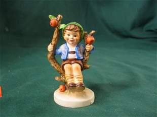 """Hummell Figurine,""""Apple Tree Boy"""""""