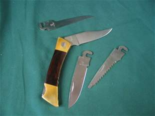 case woodgrain handle XX Changerr, 3 Additional bl