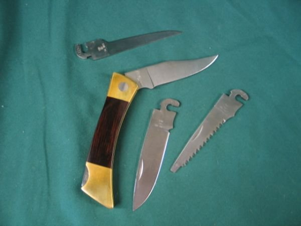 194: case woodgrain handle XX Changerr, 3 Additional bl