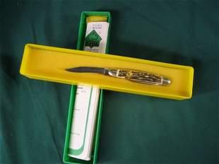 puma bantam stag handle #673, original box