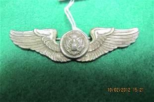 Sterling pilot wings