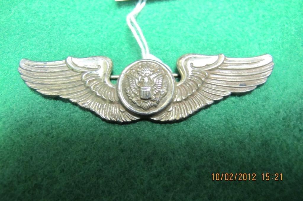 3: Sterling pilot wings