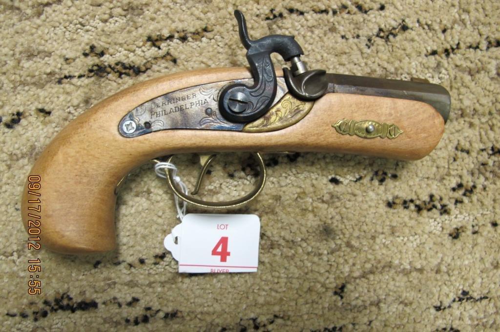 4: Dikar Spain 44Cal black powder Derringer