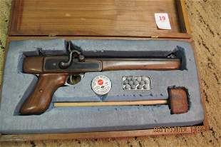 Black Powder Pistol in original box
