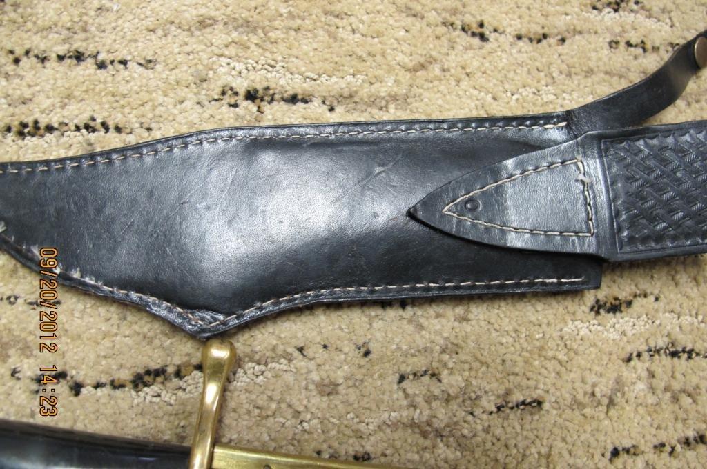 26: Case xx 1836 case Bowie Knife. 9 1/2 blade - 5