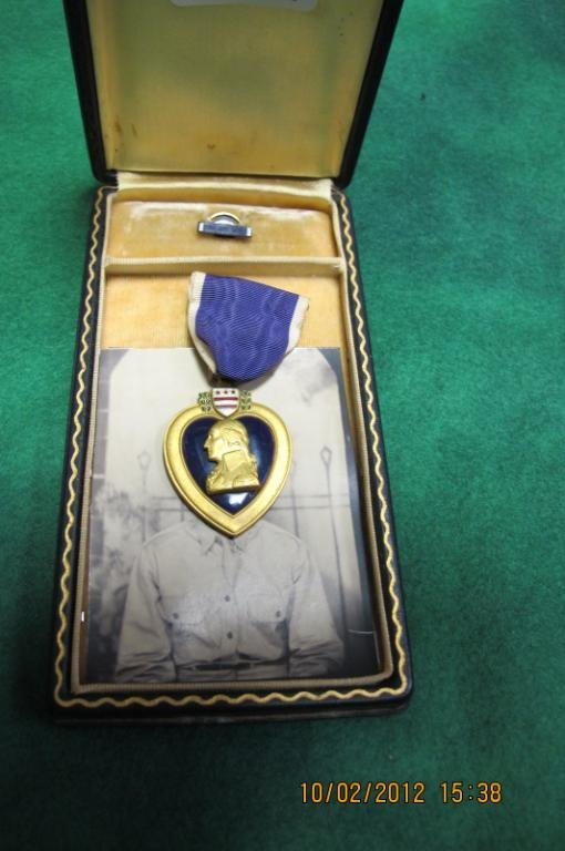 34: purple heart Robert Welborn