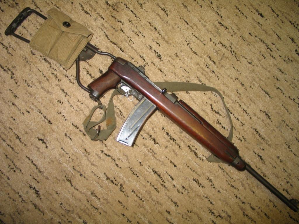 290: WWII M1A Paratrooper Carbine 1943