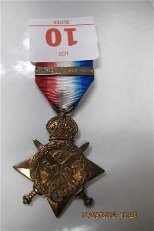 BRITISH 1914-15 STAR NETAL TO SEPOY