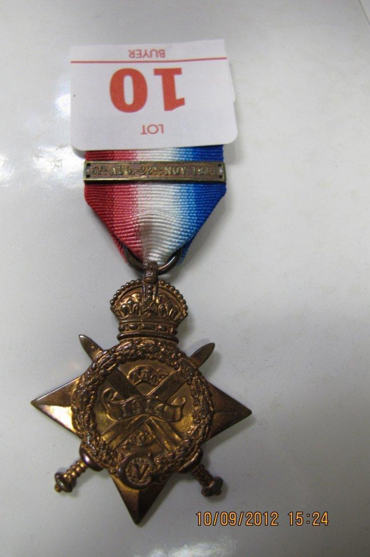 10: BRITISH 1914-15 STAR NETAL TO SEPOY