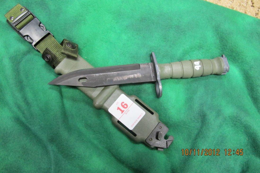16: US GI M9 COMBAT KNIFE BAYNOET