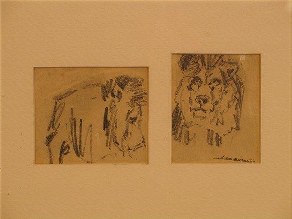 14: Arthur B. Davies - Lions