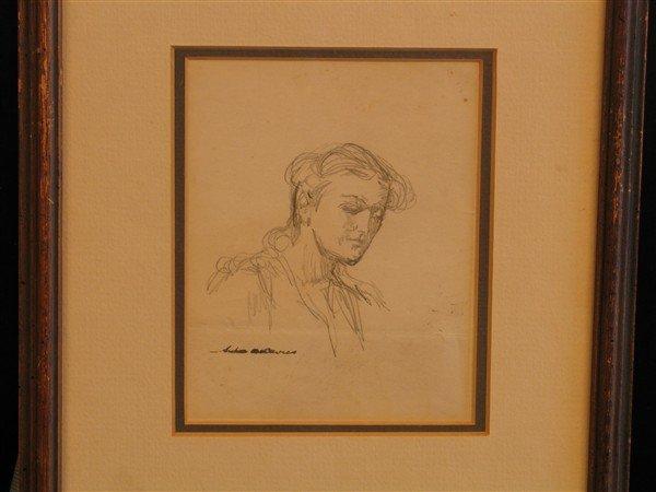 15: Arthur B. Davies - Girl in Profile