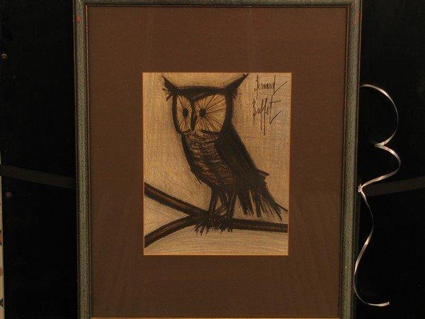 17: Bernard Buffet - The Owl