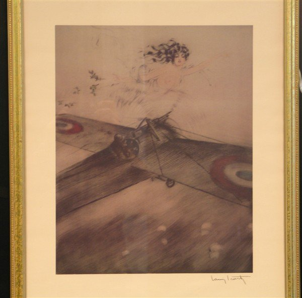 20: Louis Icart - Over the Wings