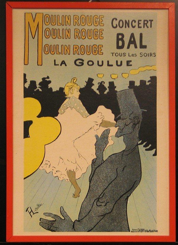 21: Henri de Toulouse-Latrec - Moulin Rouge