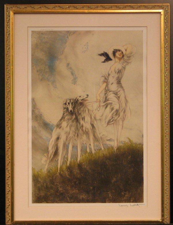 22: Louis Icart - Walking the Dogs