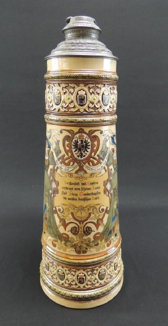 1893 Chicago Columbian exposition Mettlach 6 L Stein