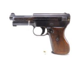 WW2 German Mauser Werke Model 1934 7.65 Pistol with